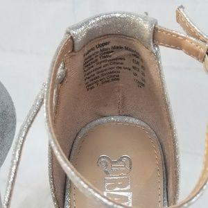 Brash Shoes - Brash Silver Ankle Strap Platform Heels